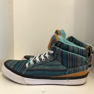 Converse Baseline mid Peacock shoes size 8.5